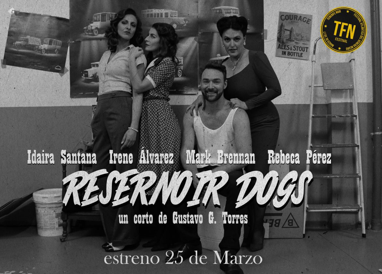 Corto Resernoir Dogs para el Tenerife Noir
