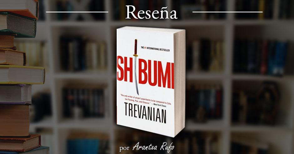 Reseña Shibumi - arantxarufo.com