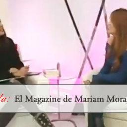 Entrevista en El Magazine de Mariam Moragas, El Día TV - arantxarufo.com