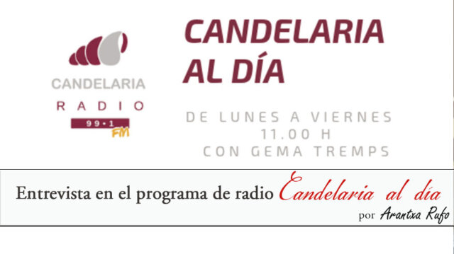radio - candelaria al día - arantxarufo.com