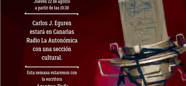 Entrevista Canarias Radio La Autonómica - arantxarufo.com