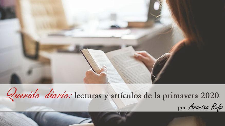 mejores lecturas primavera 2020 - arantxarufo.com