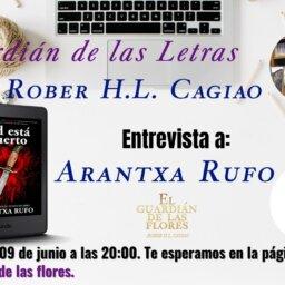 """Entrevista para """"El guardián de las letras"""" - arantxarufo.com"""