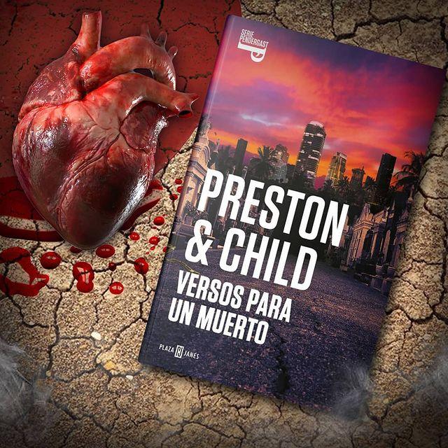 Reseña - versos para un muerto - preston - child - arantxarufo.com
